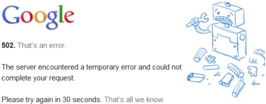 How to fix HTTP Error 502 Bad gateway