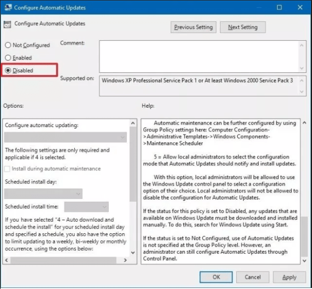 How To Disable Windows 10 Forced Updates